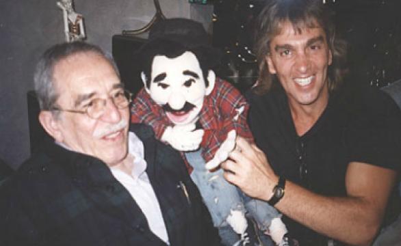 García marquez, don mofles y jhonny welch
